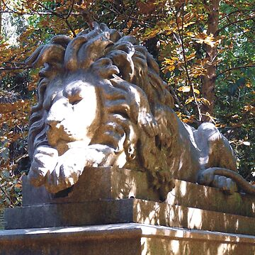 Highgate Cemetery Nero the Lion by himmstudios