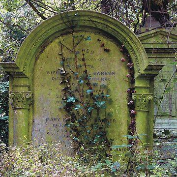Highgate Cemetery Rosetta Gravestone by himmstudios