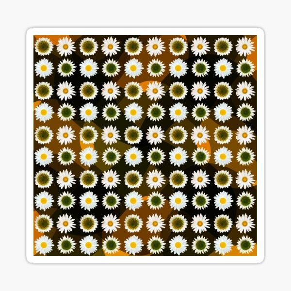 Daisies and Echineceas Sticker