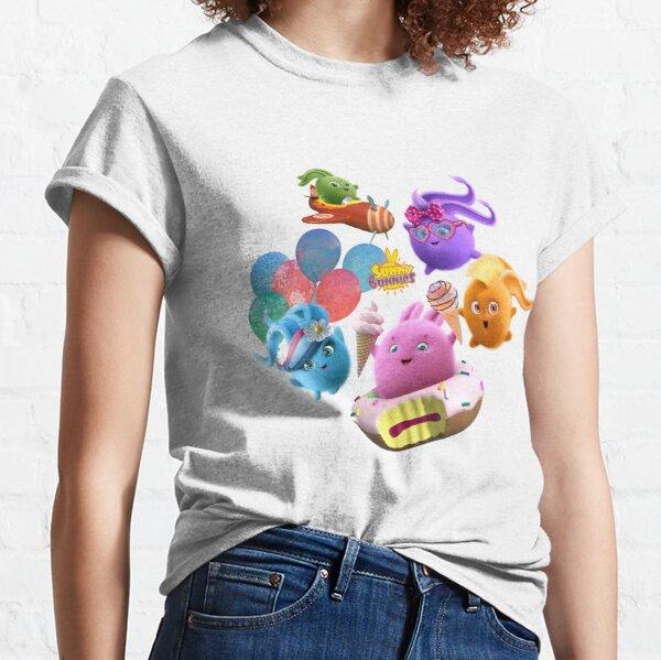 Sunny Bunnies - Happy Bunnies! Classic T-Shirt