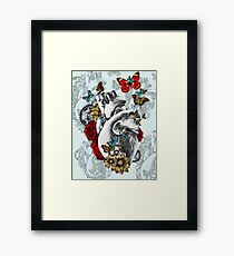 Minute by Minute Color Framed Print