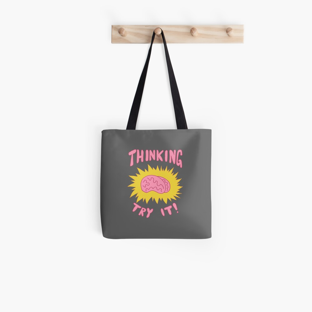 Thinking Try It! - Fabulous Brains, Man Tote Bag