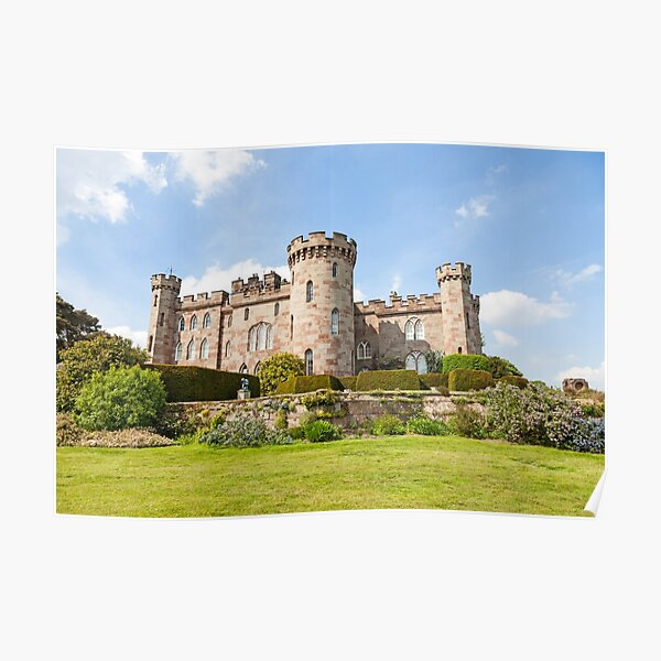 Cholmondeley Castle, Cheshire Poster