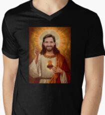 Joe Allen is the son of God. Men's V-Neck T-Shirt