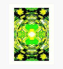 Crystal Circle Art Print