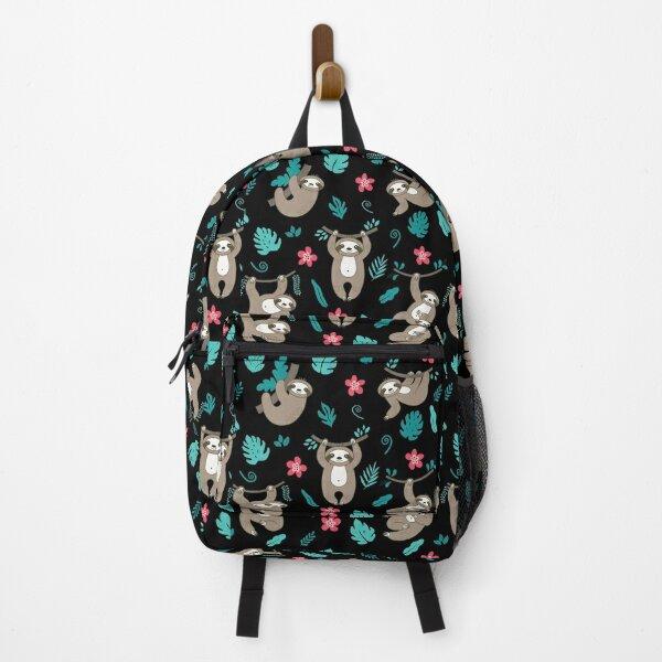 Cute Sloth Pattern Backpack