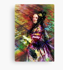 Ada Lovelace - Rainbow of Microchips Canvas Print