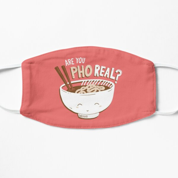 Are You Pho Real? Flat Mask