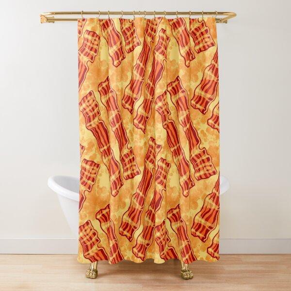 Bacon Bacon Bacon Shower Curtain