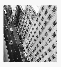 Madison Avenue NYC from above  Photographic Print