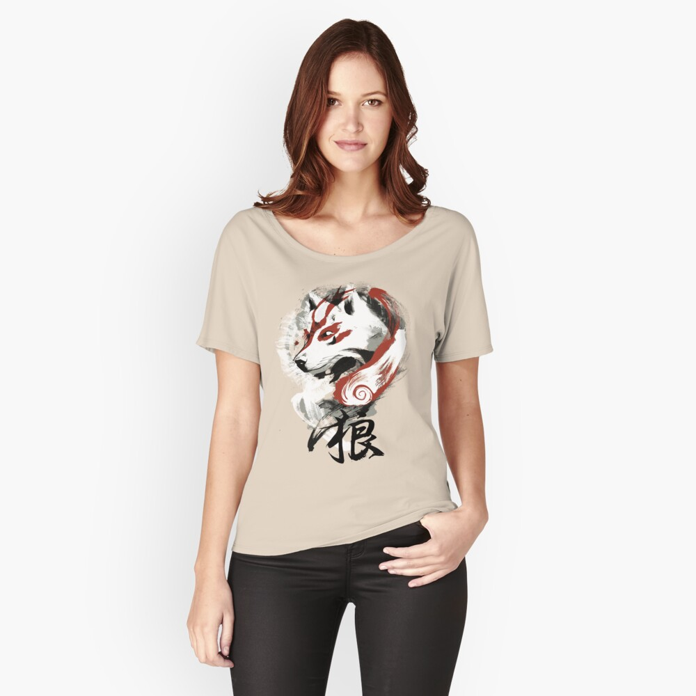 Wolf Relaxed Fit T-Shirt