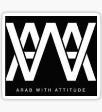 AWA - Arab With Attitude Sticker