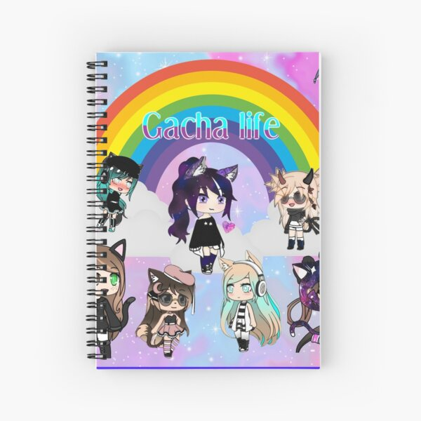 gacha life  anime pack Spiral Notebook