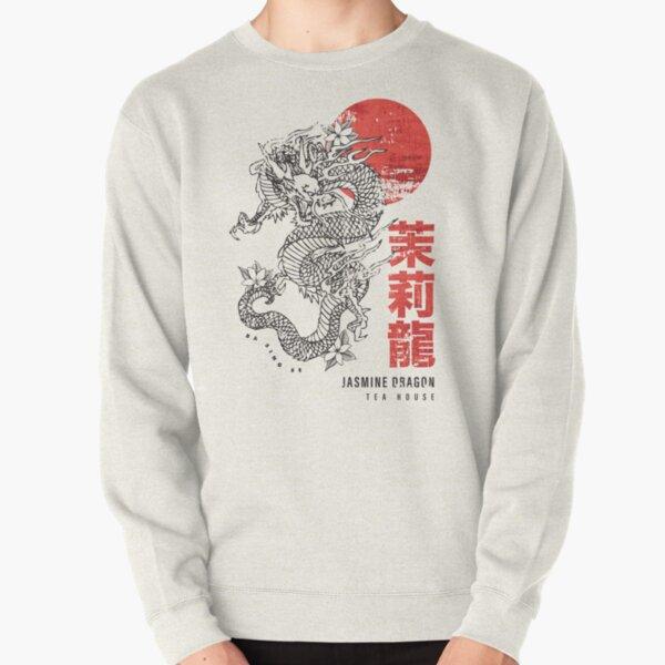 Jasmine Dragon Tea House Pullover Sweatshirt