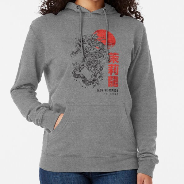 Jasmine Dragon Tea House Lightweight Hoodie