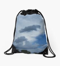 Overcast Day Drawstring Bag