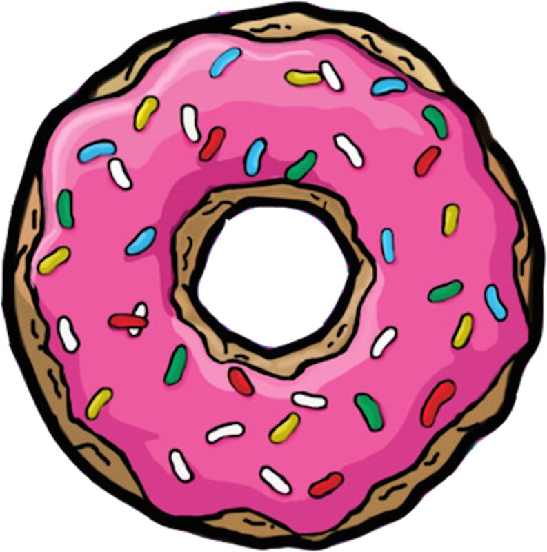 The Donut Sticker