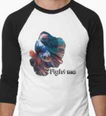 Betta Fighting Fish Men's Baseball ¾ T-Shirt