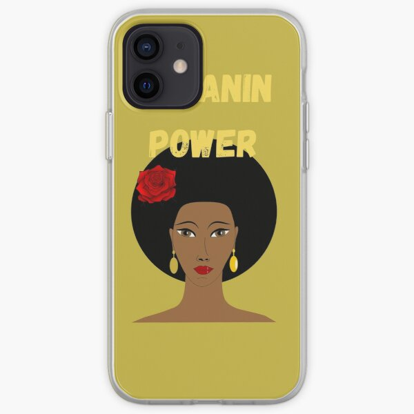 MELANIN POWER iPhone Soft Case