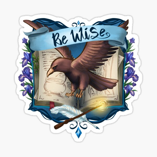 Be Wise Sticker