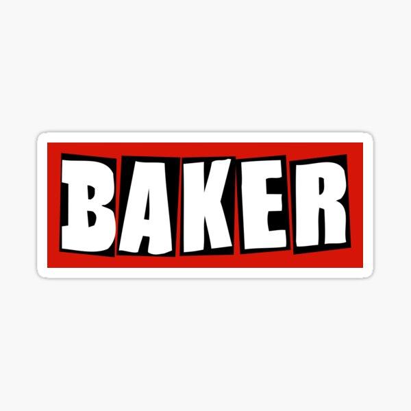 Baker Skateboard Sticker