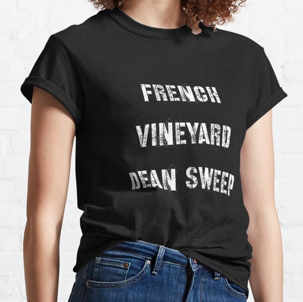 French Vineyard Dean Sweep-quots Classic T-Shirt