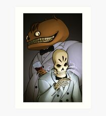 Grim Fandango Art Print