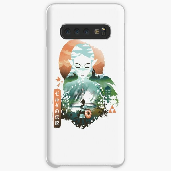 PRINCESS ZELDA UKIYO E Samsung Galaxy Snap Case