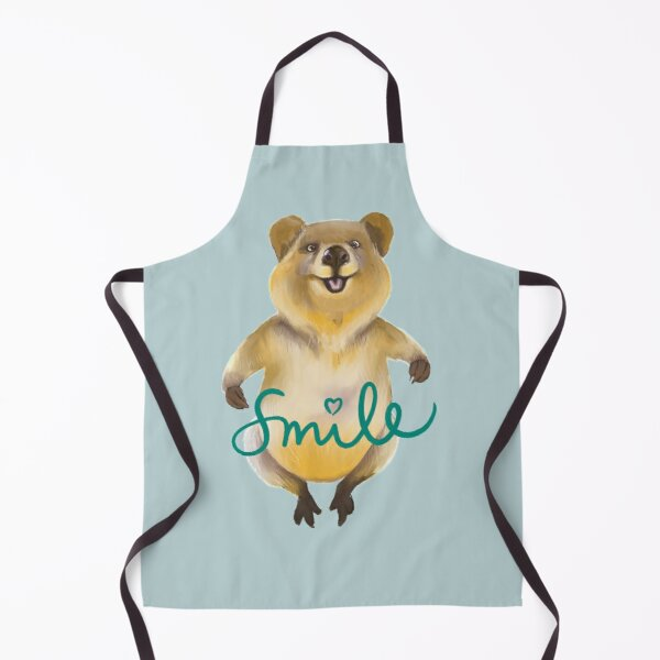 Don't worry Be Happy (as a quokka) Apron