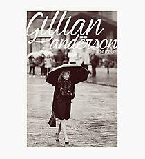 Gillian Anderson - Viva Italia Photographic Print