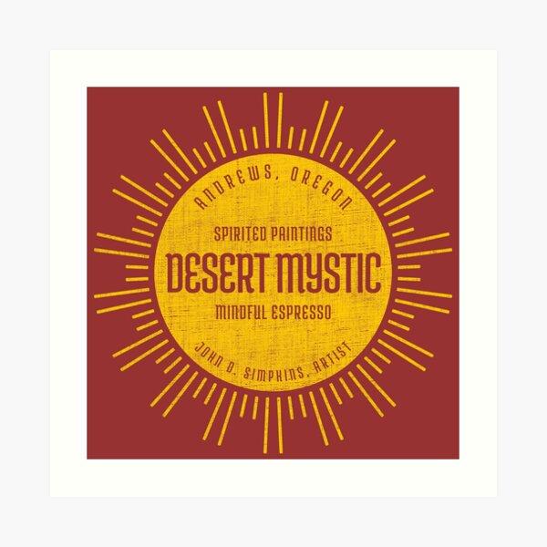 Desert Mystic Art Print