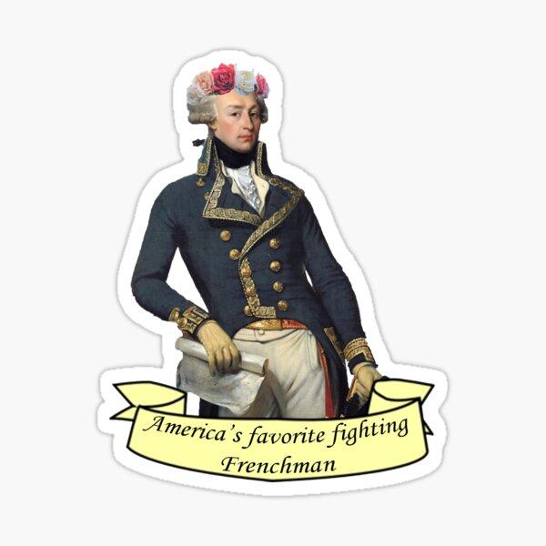 America's Favorite Fighting Frenchman Sticker
