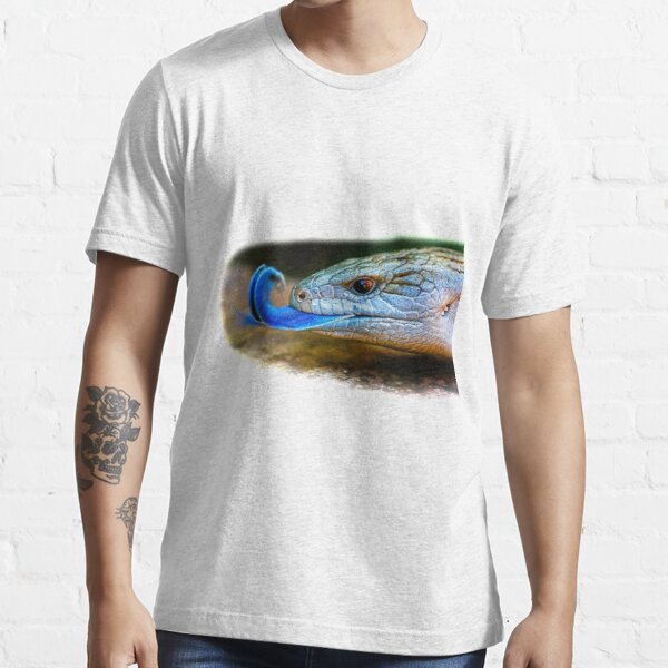 Blue-tongued skink Essential T-Shirt