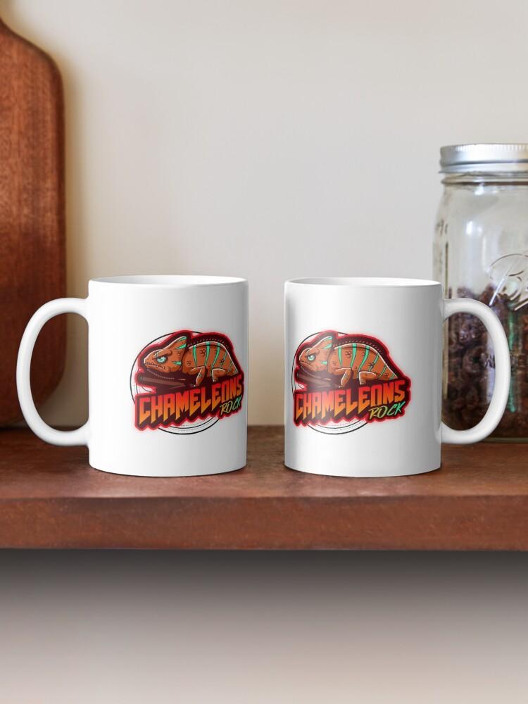 Alternate view of Chameleons Rock Colourful Bright Mug
