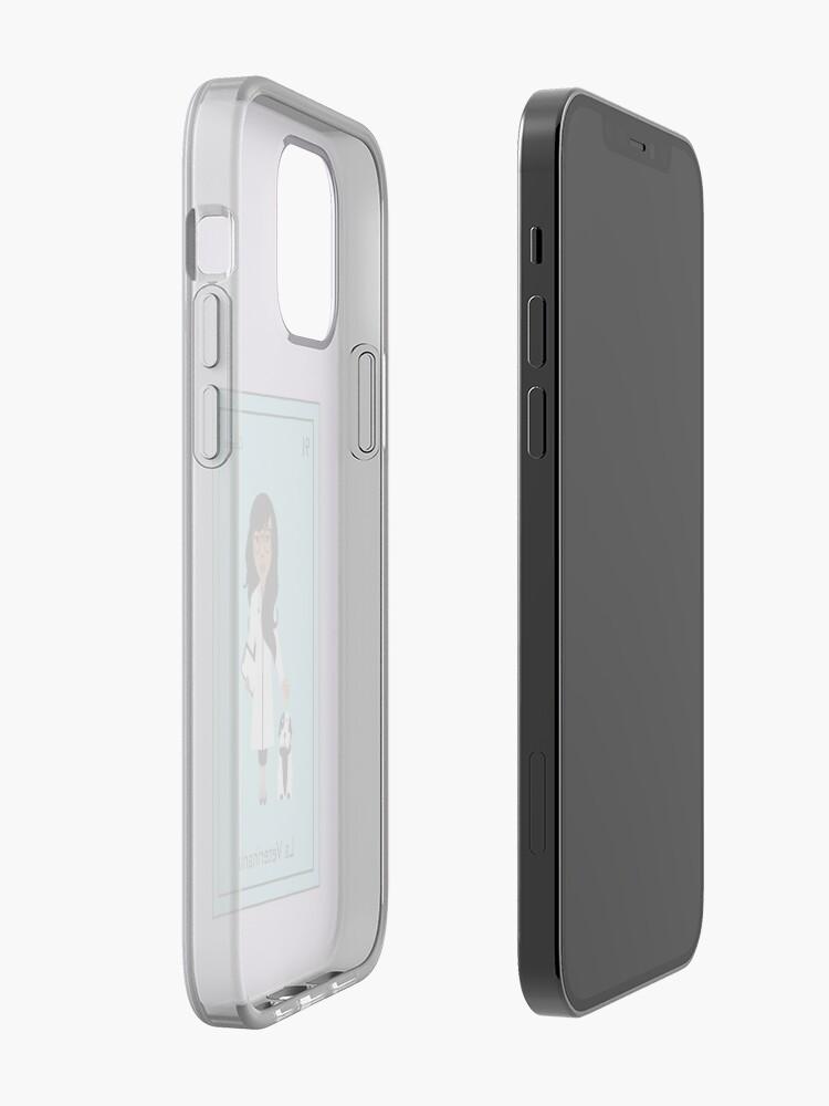 Alternate view of La Veterinaria  2 iPhone Case