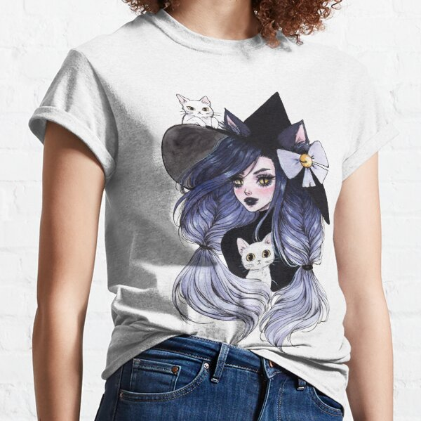 Cat witch Classic T-Shirt