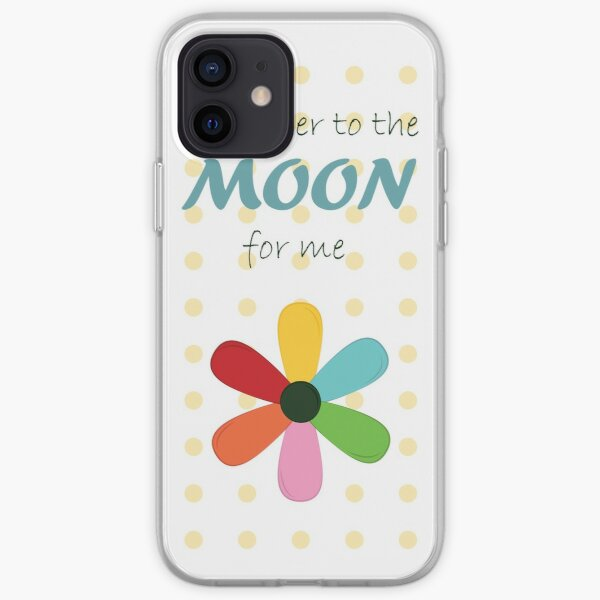 Take her to the moon for me iPhone Soft Case