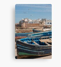 Moroccan Boats Canvas Print