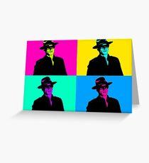 Magneto Pop Art Greeting Card