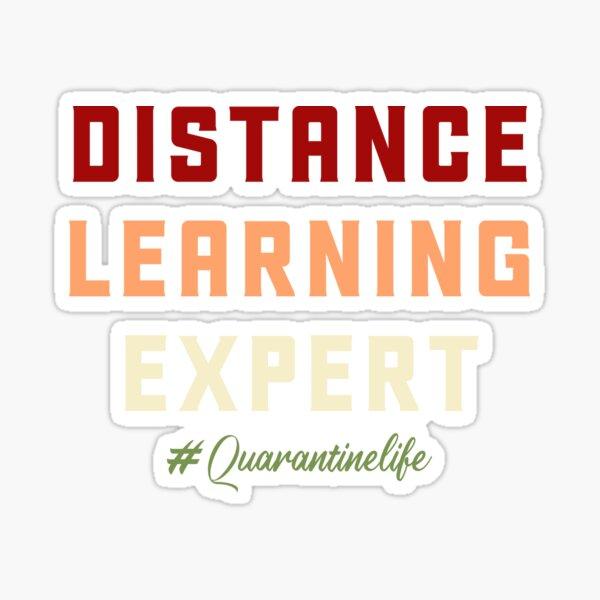 Distance learning expert Sticker