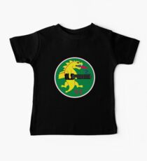 25th Fighter Squadron (black) Kids Clothes
