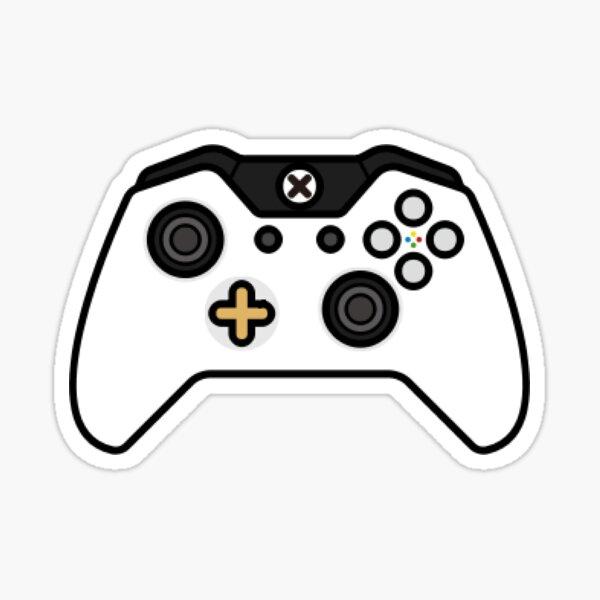 Illustration du contrôleur Xbox Sticker