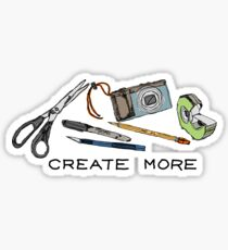 Create More Sticker