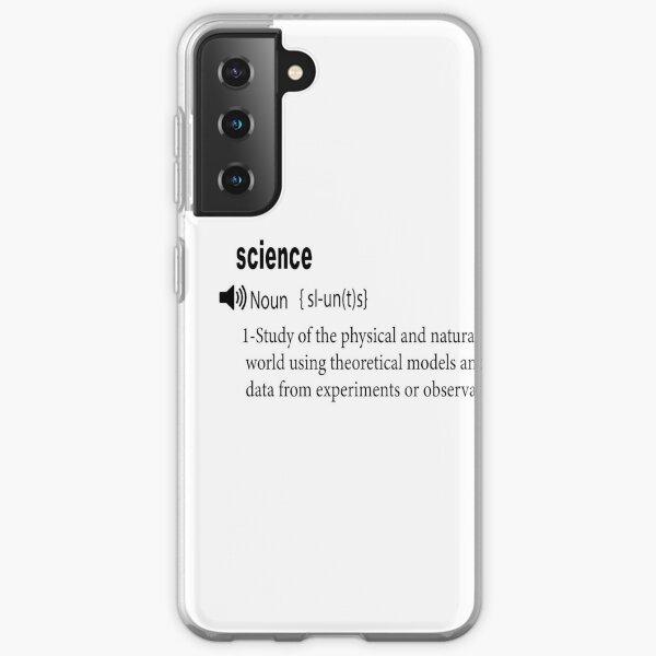 Interesting science definition Samsung Galaxy Soft Case