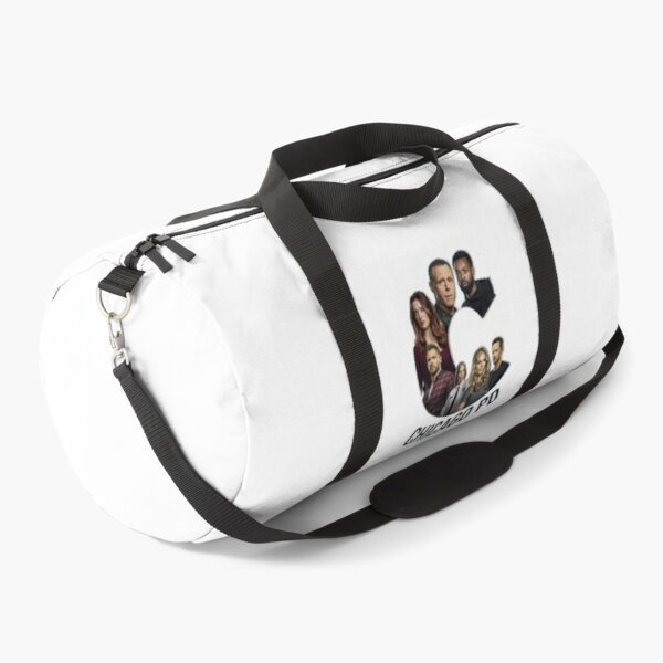 Chicago PD tv show characters poster logo  Duffle Bag