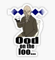 Ood on the loo...  Sticker