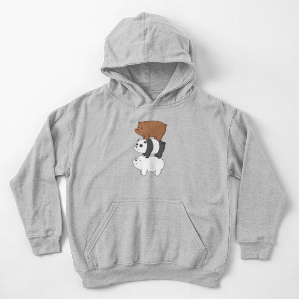 We Bare Bears™  Kids Pullover Hoodie