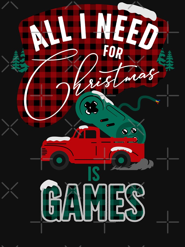 All I need for christmas is games by szymonkalle