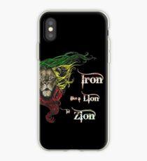 Reggae Rasta Iron, Lion, Zion 4 iPhone Case