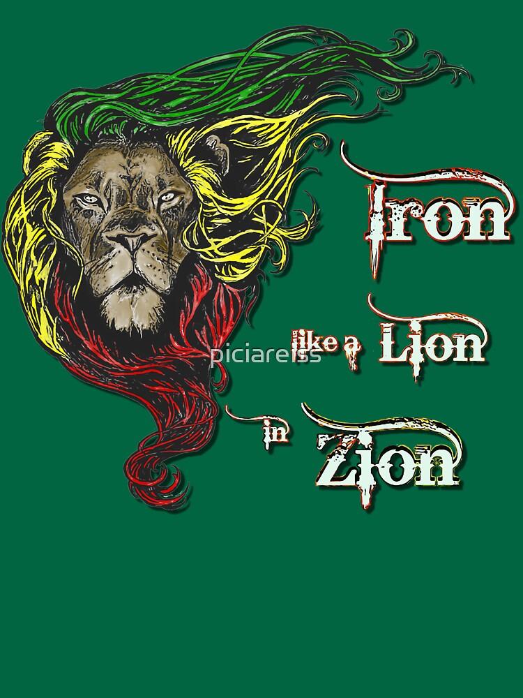 Reggae Rasta Iron, Lion, Zion 4 by piciareiss
